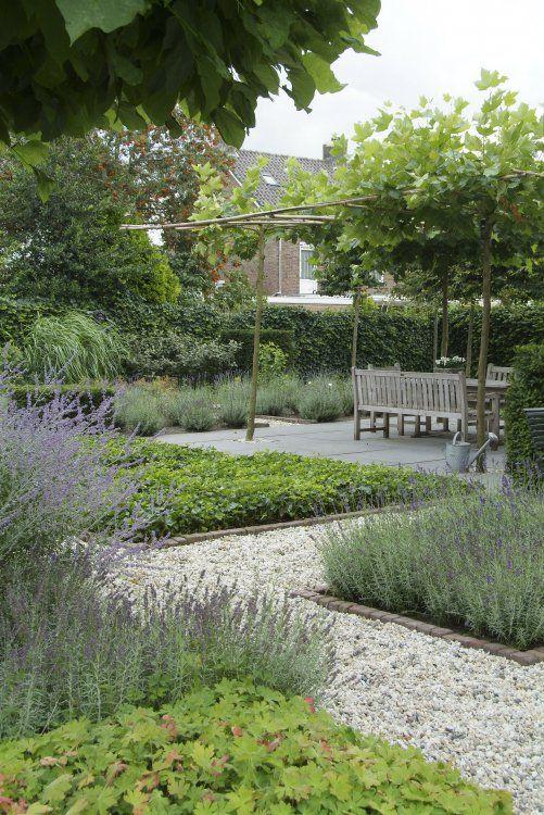 landelijk en moderne tuin
