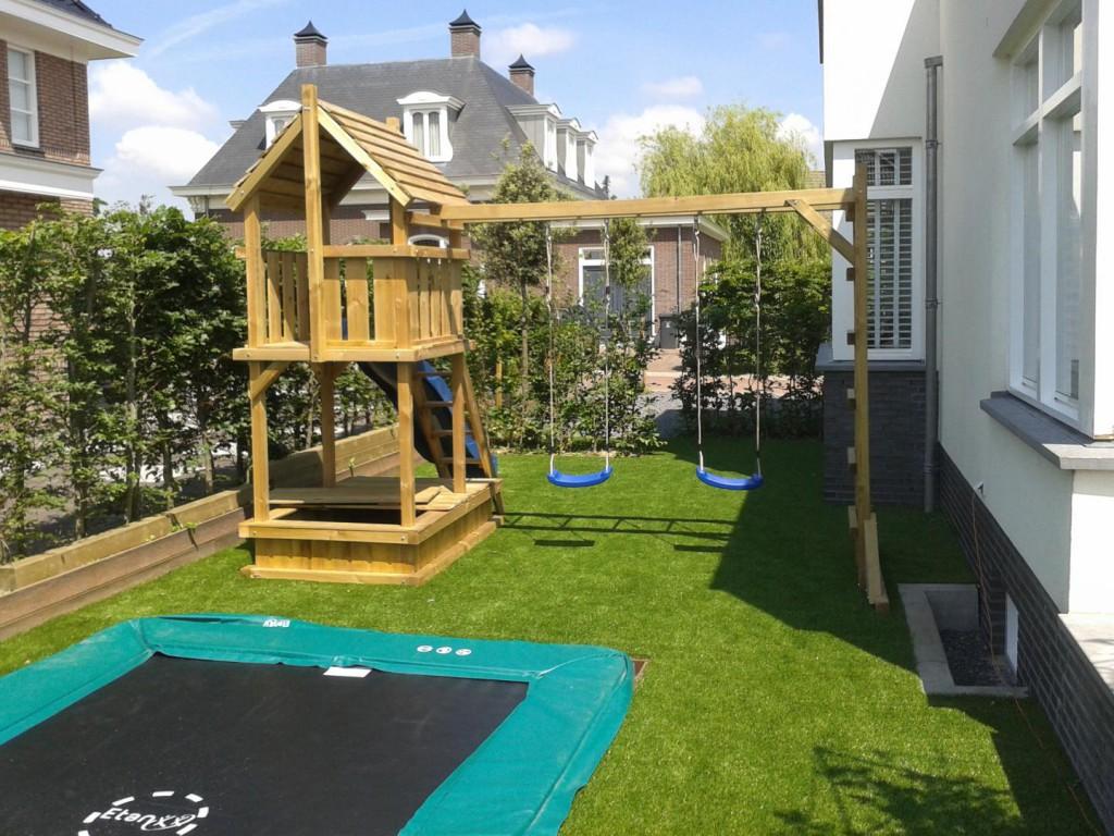 Kindvriendelijke tuinaanleg